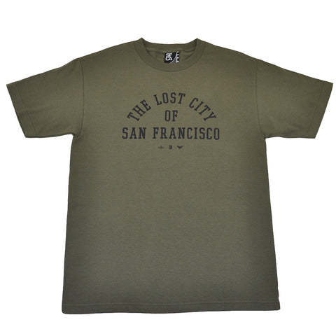 Mens SFCA Lost City T-Shirt Olive