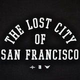 Mens SFCA Lost City T-Shirt Black - Shop True Clothing
