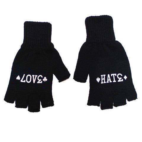 True Anti Trust Gloves Black