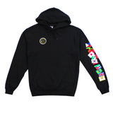True Mens Nations Hoodie Black