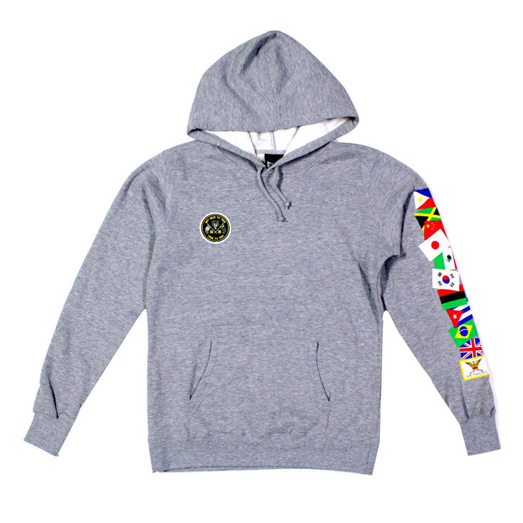True Mens Nations Hoodie Heather