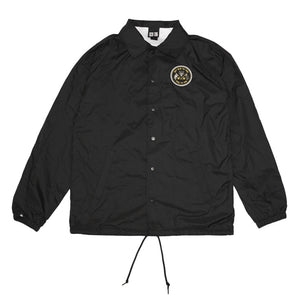 True Mens Nations Coaches Jacket Black - Shop True Clothing