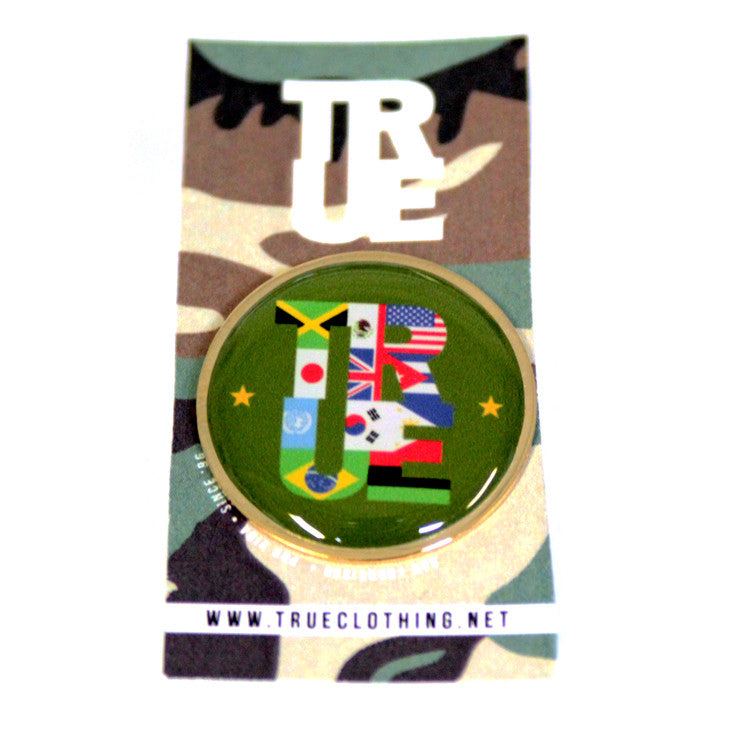 True Nations Lapel Pin - Shop True Clothing
