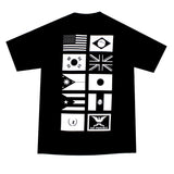 Mens True Nations Pocket T-Shirt Black