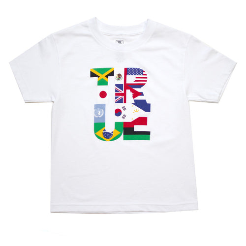 Kids True Nations T-Shirt White - Shop True Clothing