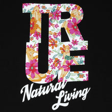 Load image into Gallery viewer, Mens True Natural Living T-Shirt Black - Shop True Clothing