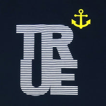 Load image into Gallery viewer, Mens True Nautical T-Shirt Navy - Shop True Clothing