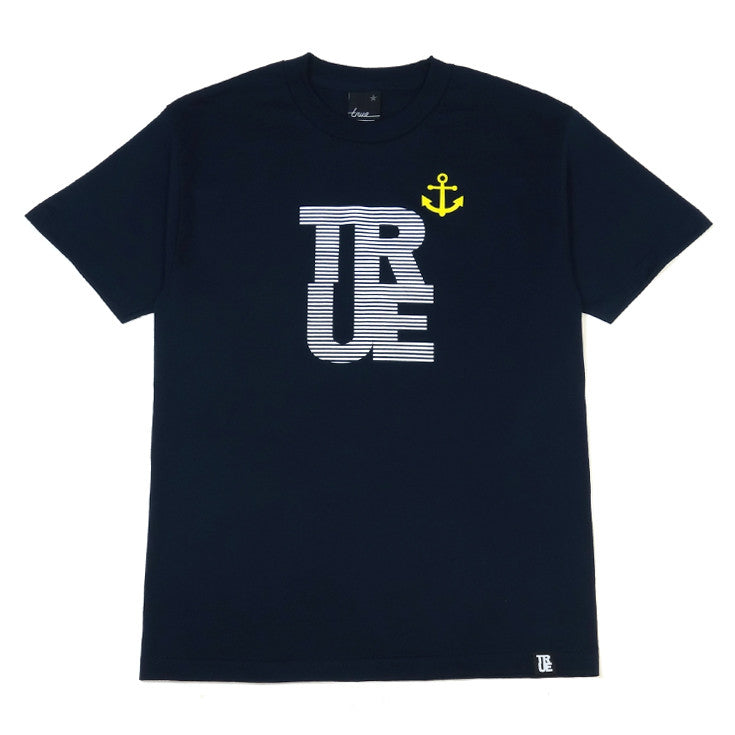 Mens True Nautical T-Shirt Navy - Shop True Clothing
