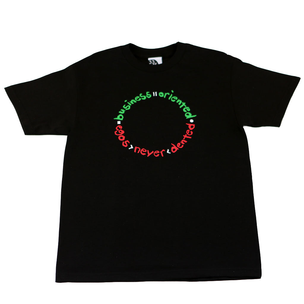 Mens Ongaku Business Oriented T-Shirt Black