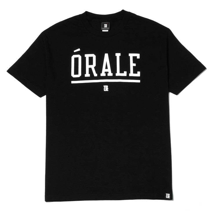 Mens True Orale T-Shirt Black - Shop True Clothing
