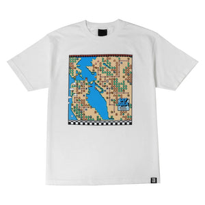 Mens True Overworld T-Shirt White - Shop True Clothing