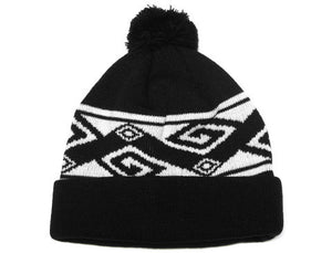 True Patriot Pom Beanie Black - Shop True Clothing