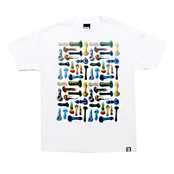 True Pipes Men's T-Shirt White