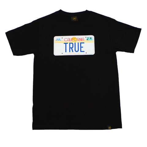 Mens True Plate T-Shirt Black