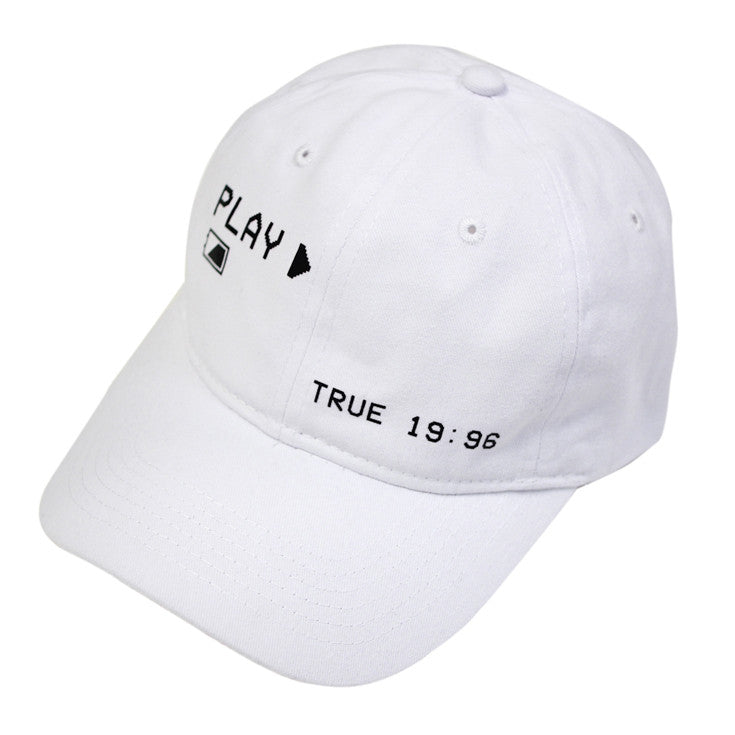 True Charged Up Dad Hat White
