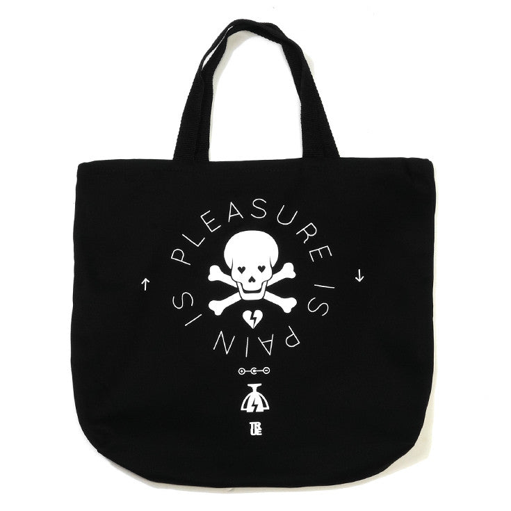 True Pleasure Pain Tote Bag Black - Shop True Clothing