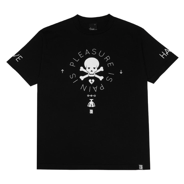 Mens True Pleasure Pain T-Shirt Black