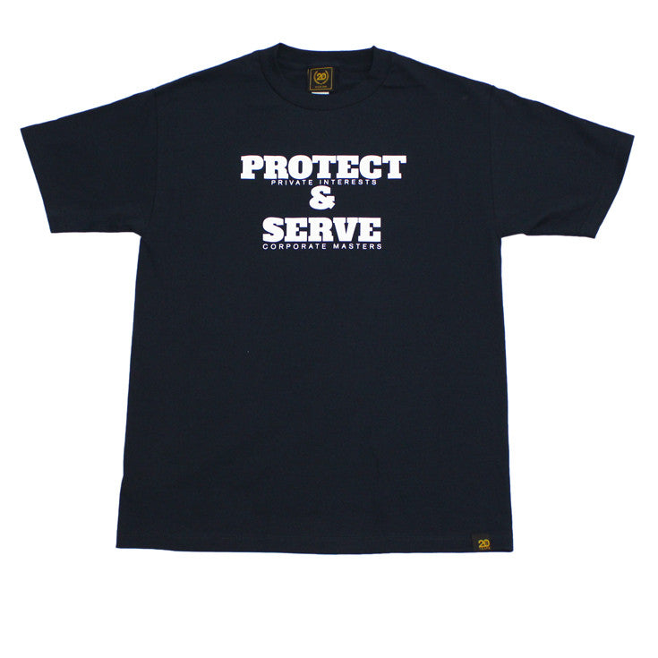 Mens True Protect & Serve T-Shirt Navy