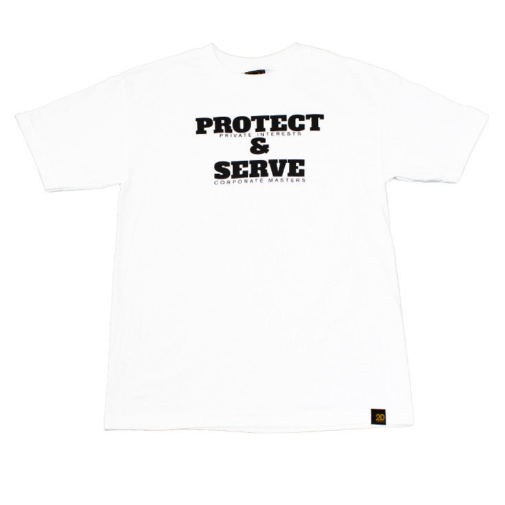 Mens True Protect & Serve T-Shirt White - Shop True Clothing