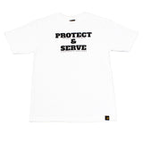 Mens True Protect & Serve T-Shirt White