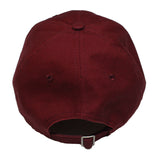 True Rose Dad Hat Burgundy