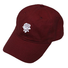 Load image into Gallery viewer, True Rose Dad Hat Burgundy - Shop True Clothing