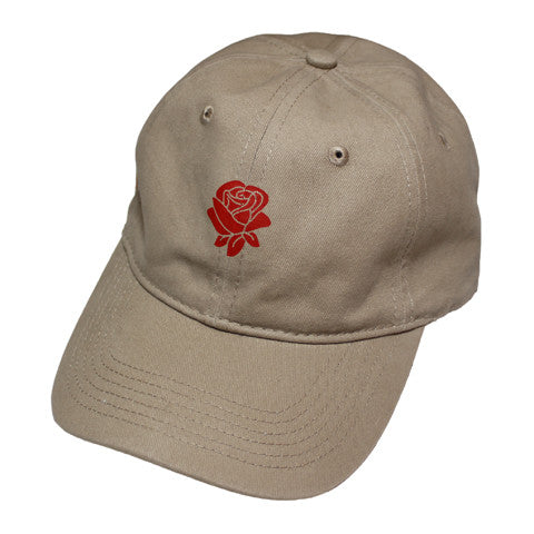 True Rose Dad Hat Khaki