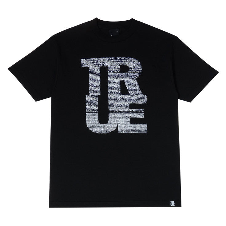 Mens True Rosetta T-Shirt Black