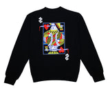 Mens True Royalty Crewneck Sweatshirt Black