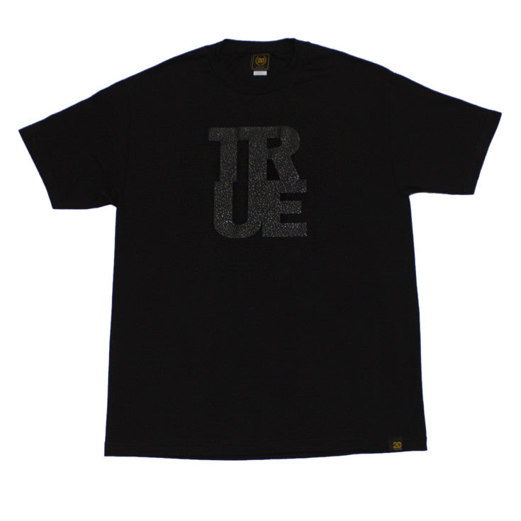 Mens True Logo Safari T-Shirt Black