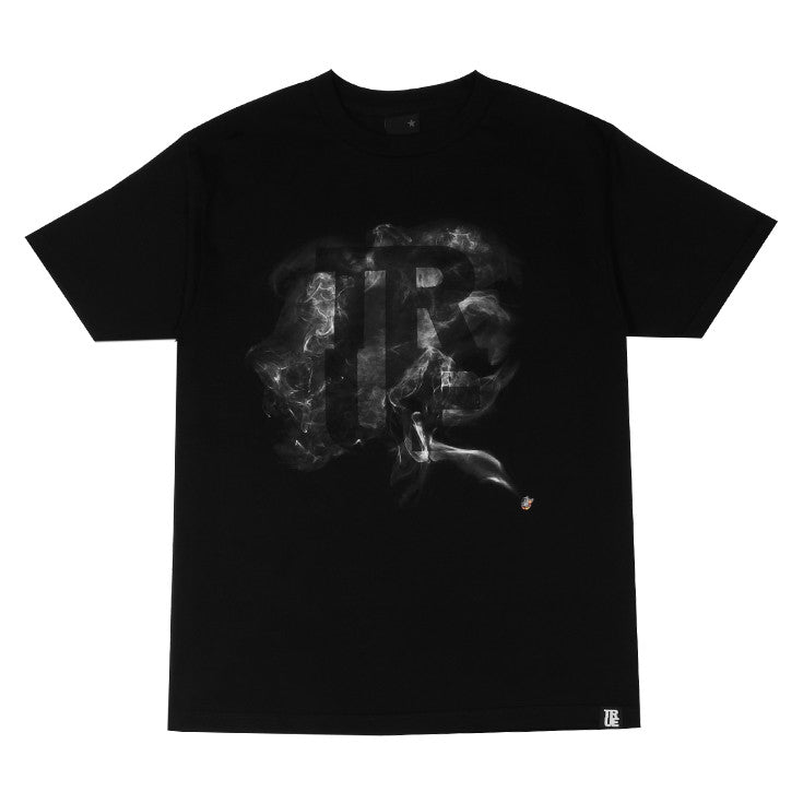 Mens True Smoke T-Shirt Black - Shop True Clothing