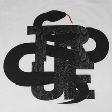 Load image into Gallery viewer, Mens True Logo Snake T-Shirt White - Shop True Clothing