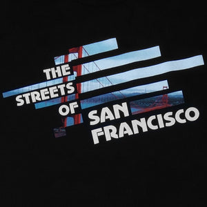 Mens SFCA Streets T-Shirt Black - Shop True Clothing