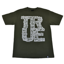 Load image into Gallery viewer, Mens True Street Signs T-Shirt Olive - Shop True Clothing