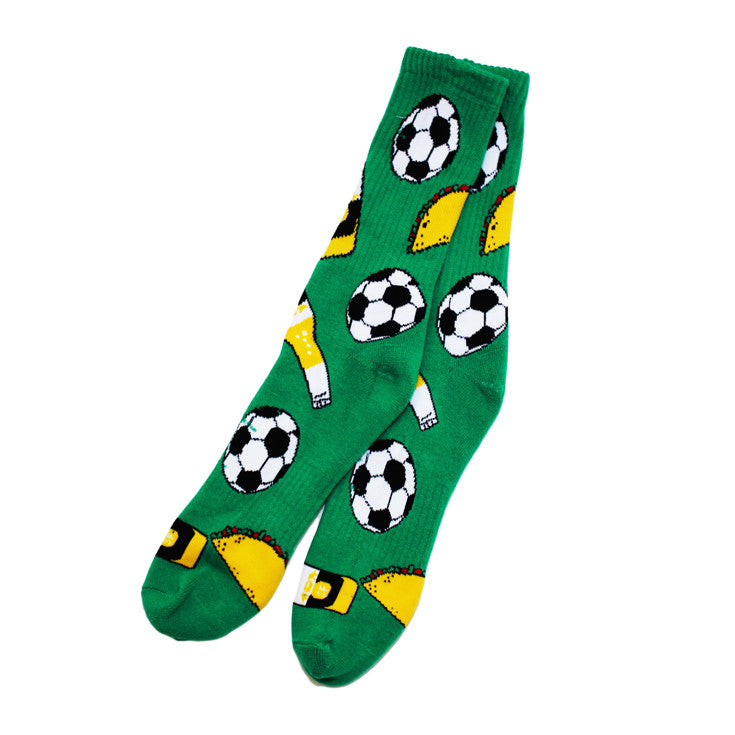 Taco Socks Green - Shop True Clothing