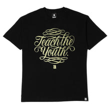 Load image into Gallery viewer, Mens True Teach The Youth T-Shirt Black - Shop True Clothing