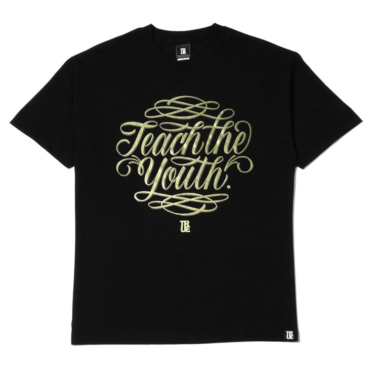 Mens True Teach The Youth T-Shirt Black - Shop True Clothing
