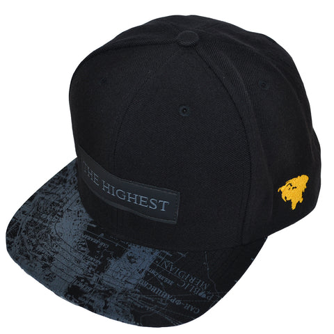 True The Highest Snapback Cap Black