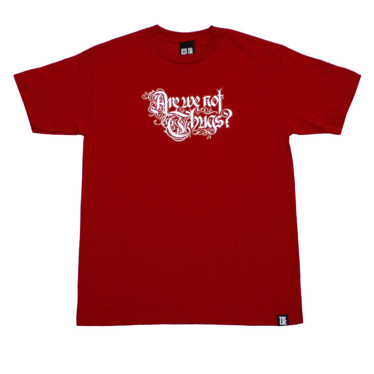Mens True Thugs T-Shirt Red