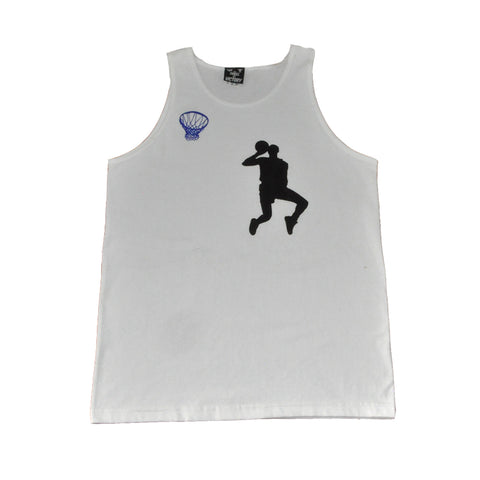 Thrill of Victory Mens Hangtime Tank Top White
