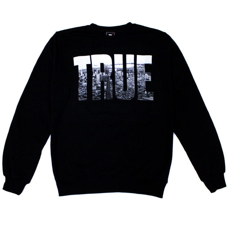 True TRSF Men's Crewneck Sweatshirt Black