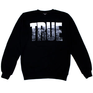 True TRSF Men's Crewneck Sweatshirt Black - Shop True Clothing