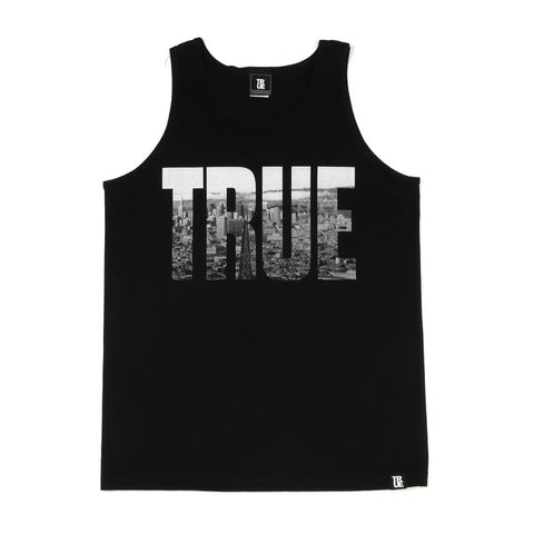 Mens True TRSF Tank Top Black