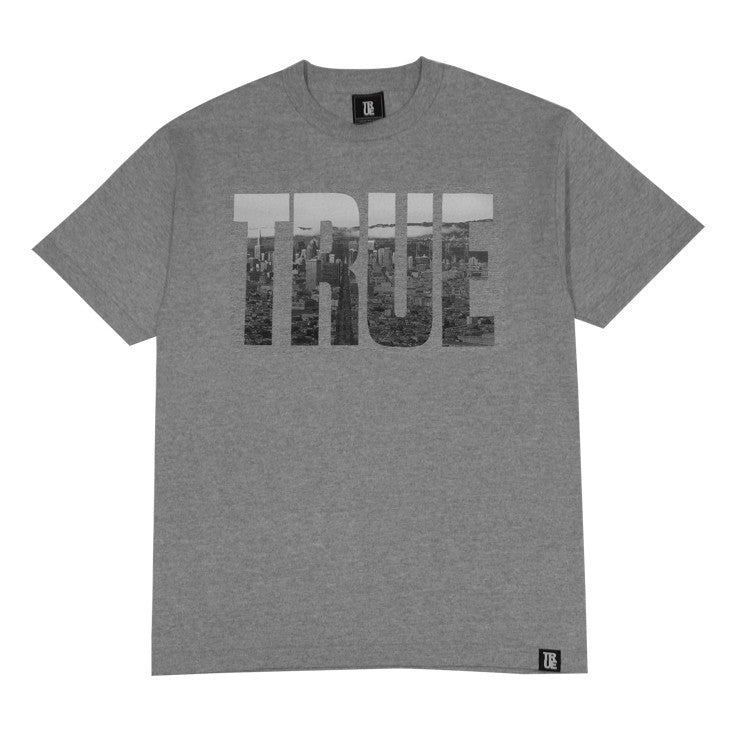 Mens True TRSF T-Shirt Heather Grey - Shop True Clothing