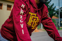 Load image into Gallery viewer, Mens True Interlocked Hoodie Maroon - Shop True Clothing