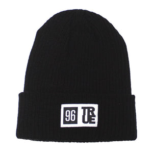 True 96 Beanie Black - Shop True Clothing
