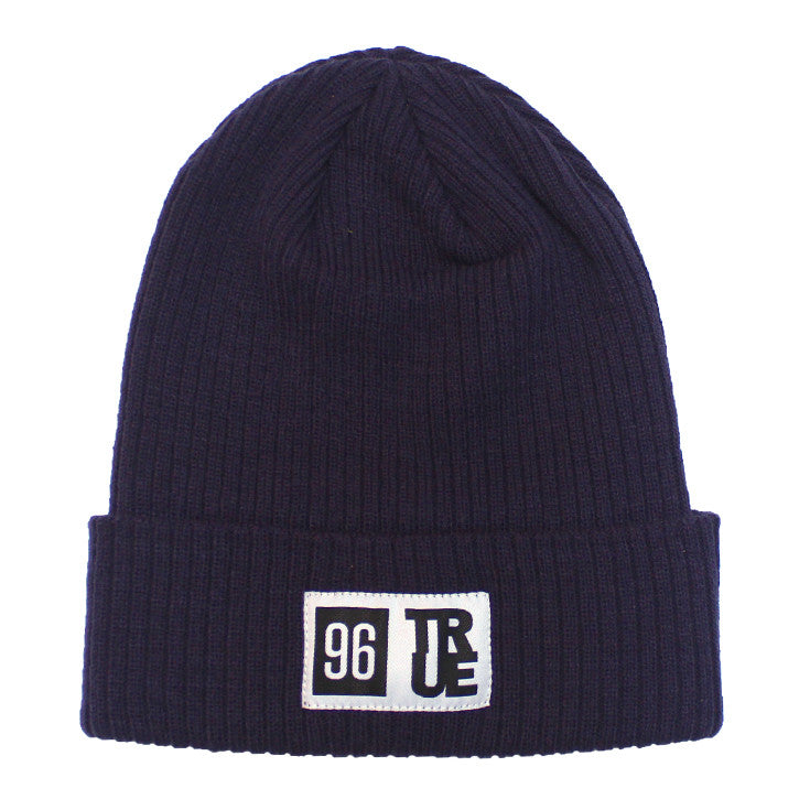 True 96 Beanie Navy - Shop True Clothing