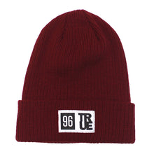 Load image into Gallery viewer, True 96 Beanie Burgundy - Shop True Clothing