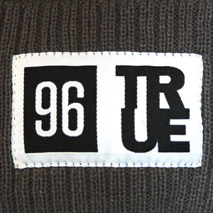 True 96 Beanie Grey - Shop True Clothing