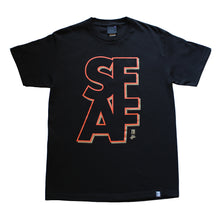 Load image into Gallery viewer, Mens True x The F-word S.F.A.F T-Shirt Black